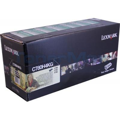 LEXMARK C780 PRINT CARTRIDGE BLACK RP TAA 10K